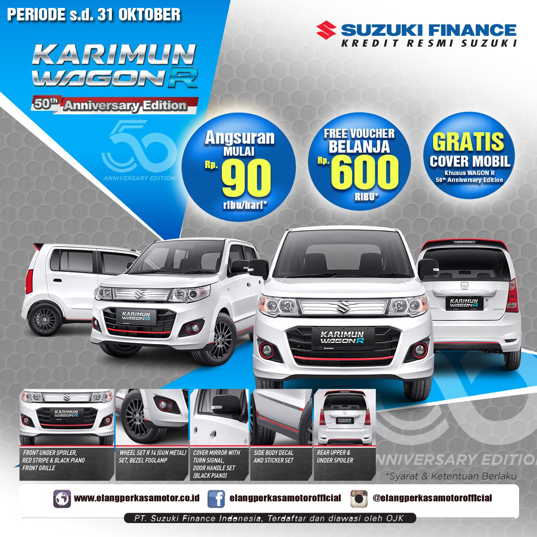 Promo Karimun 50th Anniversary - Limited Edition